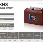Trojan 30xhs-GEM-battery