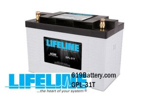 Lifeline Marine AGM Battery San Diego