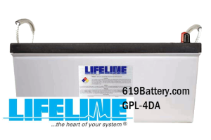 Lifeline Marine Battery 4D AGM