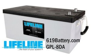 Lifeline AGM Marine Battery
