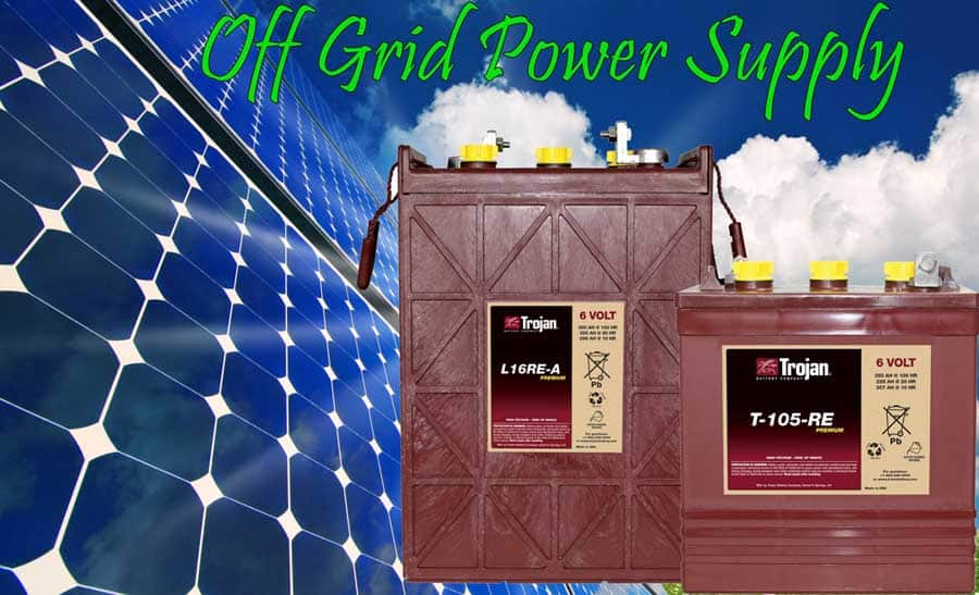 Off Grid Solar Battery