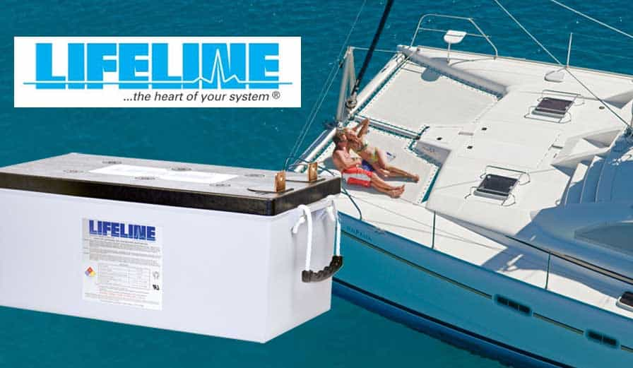 Lifeline Marine Battery