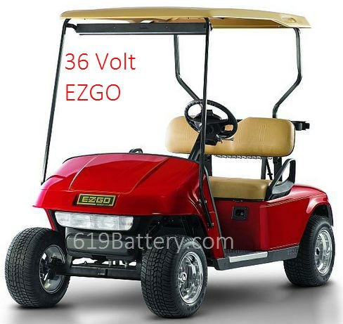 6 Volt For 36 Volt Golf Cart Available With Free Local Delivery