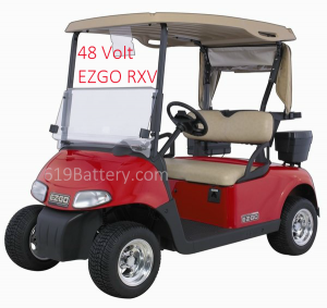 EZGO RXV Battery Replacement San Diego