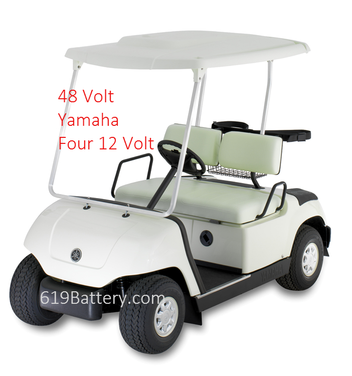 Yamaha YDRE Batteries - Deep Cycle Battery Store on 2015 golf carts, custom golf carts, 2016 yamaha go carts, 2016 club car golf carts, star golf carts,