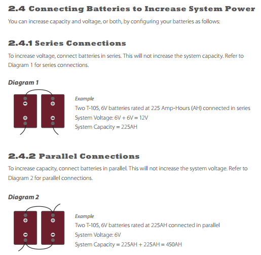 Connecting Batteries in Series Parallel