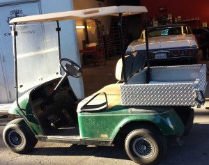 EZGO Golf Cart with Utility Bed for Sale $2000