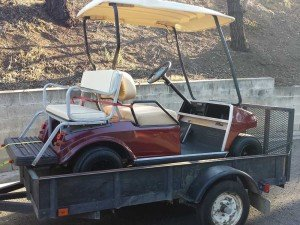 Street Legal Golf Cart for Sale $1800