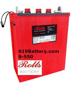 Rolls L16 Battery for Sale San Diego
