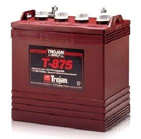 T875-Trojan-Battery for 48 volt golf cart