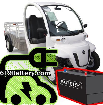 GEM Car Battery Charging