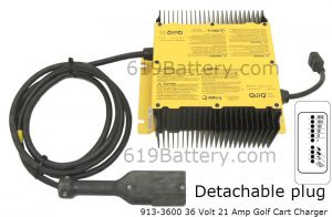 EZGO RXV Battery Replacement