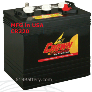 Western Golf Cart Battery