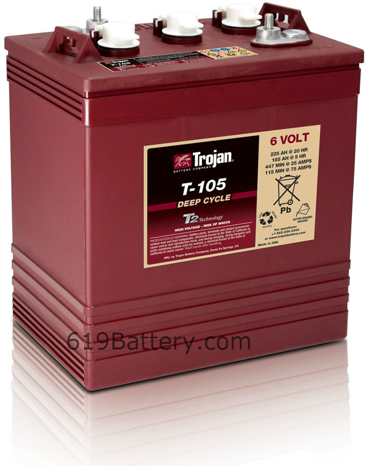 Desert Season Battery Sale likewise Trojan Battery besides Products besides Marine 6 Volt Deep Cycle Battery San Diego also . on trojan t 105 6 volt deep cycle flooded golf cart battery