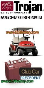 Club Car Precedent Battery Replacement