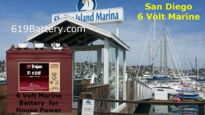 6v marine battery