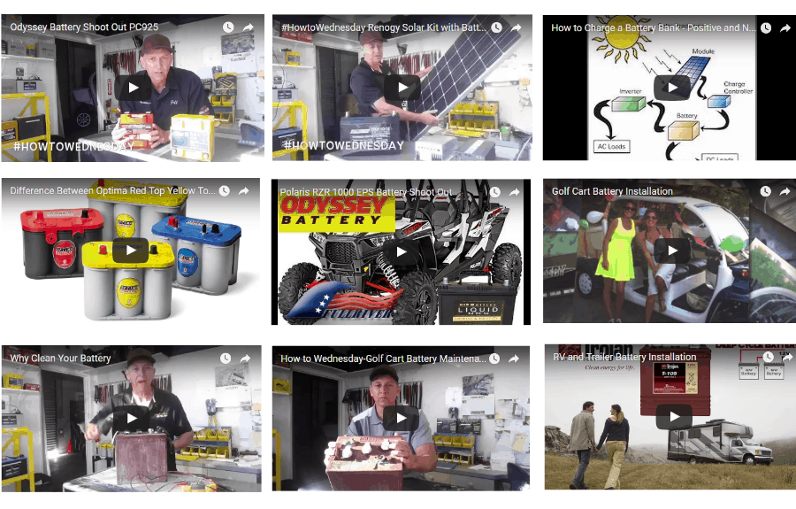 deep cycle battery san diego video