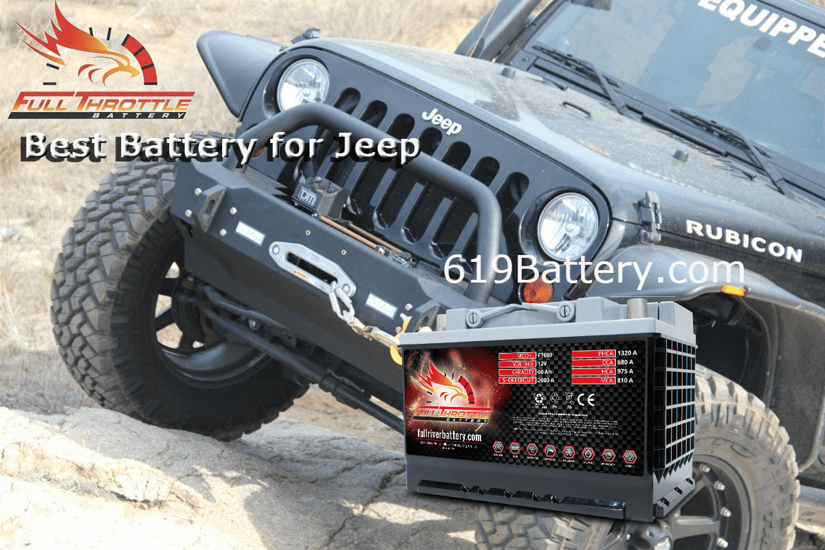 High Performance Jeep Batteries From Deep Cycle Battery