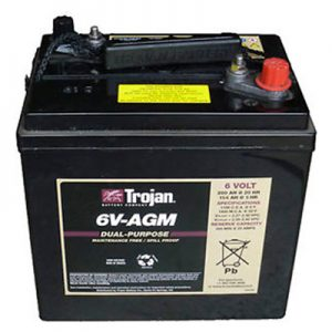 Marine AGM Battery 6v