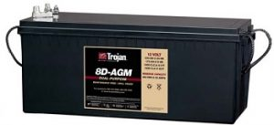 Marine AGM Battery 8D