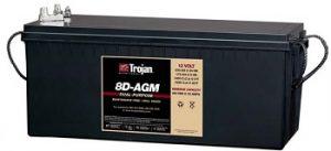 Marine AGM Battery 8D