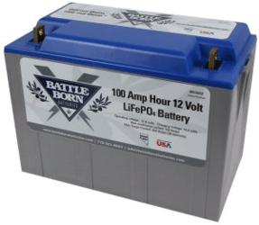 duffy boat battery - Battle born
