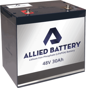 Allied Lithium Golf Cart Battery Replacement