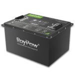 roypow LiFe 48 Volt Lithium Battery Pack for Golf Carts