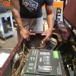 lithium golf cart battery install