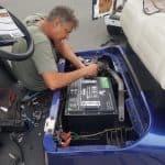 golf cart lithium install